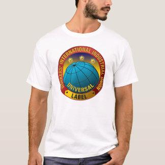 Camisa del logotipo del color de WIIU