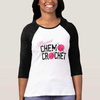 Camisa del logotipo del ganchillo de Chemo del