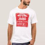 Camisa del logotipo del Haiku del Tribunal Supremo