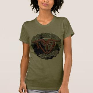 Camisa del logotipo del rtf de las señoras