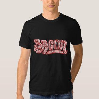 ¡Camisa del logotipo del tocino! Playeras