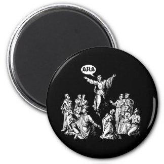 Camisa del lol de Jesús BRB Imán Redondo 5 Cm