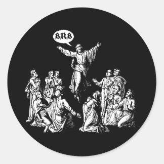 Camisa del lol de Jesús BRB Etiqueta Redonda