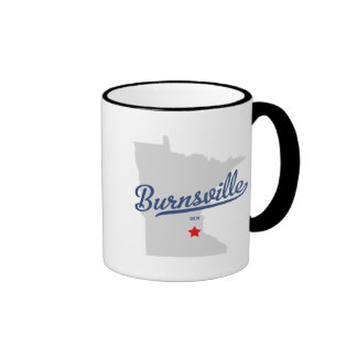 Camisa del manganeso de Burnsville Minnesota Taza