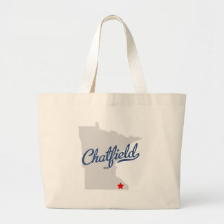 Camisa del manganeso de Chatfield Minnesota Bolsa De Mano