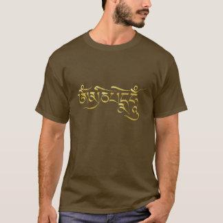 Camisa del mantra de OM Mani