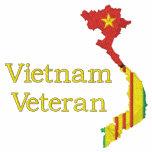 Camisa del mapa del veterano de Vietnam
