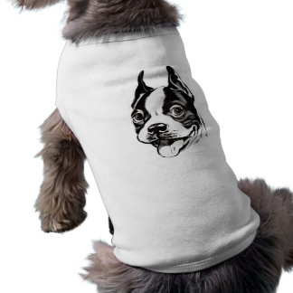 Camisa del mascota de Boston Terrier Camisa De Mascota