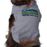 Camisa del mascota de Derby del rodillo de dos río Camisa De Mascota
