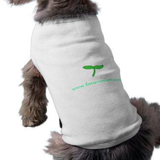 Camisa del mascota de Foravenium Playera Sin Mangas Para Perro