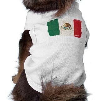 Camisa del mascota de la BANDERA de MÉXICO Camisa De Mascota
