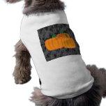 Camisa del mascota de la calabaza ropa de mascota