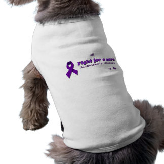 Camisa del mascota de la conciencia de Alzheimer Camisetas De Mascota