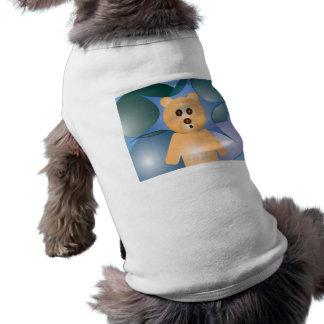 Camisa del mascota de la diversión de Beary Beary Playera Sin Mangas Para Perro