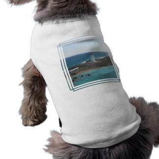 Camisa del mascota de la foto del faro ropa macota