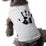 Camisa del mascota de la mano amiga ropa macota