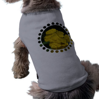 Camisa del mascota de la milenrama camiseta de perro