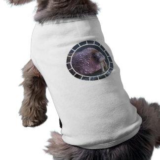 Camisa del mascota de la morsa de Tusked Playera Sin Mangas Para Perro