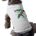 Camisa del mascota de la tortuga camisa de perro