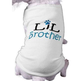 Camisa del mascota de Lil Brother Playera Sin Mangas Para Perro