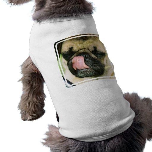 Camisa del mascota de Pugalicious Camisetas De Perrito