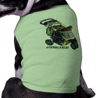 Camisa del mascota de Strollercat Ropa Macota