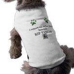 Camisa del mascota de Tyson Camisas De Perritos