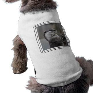 Camisa del mascota del genio de la nutria camisetas de mascota