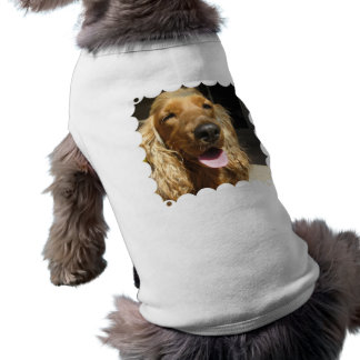 Camisa del mascota del perro del perro de aguas ropa para mascota