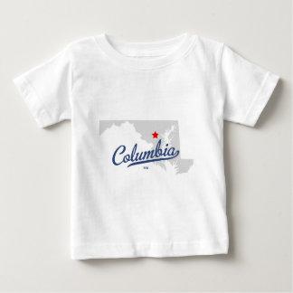 Camisa del MD de Columbia Maryland