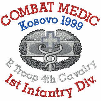 Camisa del médico del combate de Kosovo