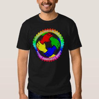 Camisa del mes de la conciencia del autismo de WPA