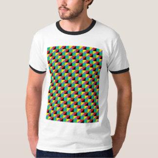 Camisa del modelo de mosaico