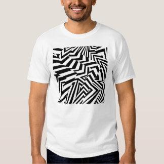 Camisa del modelo de zigzag