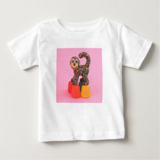 Camisa del mono de las pastillas de goma de la