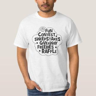 Camisa del mono del sorteo