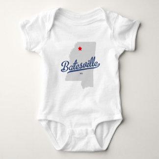 Camisa del ms de Batesville Mississippi