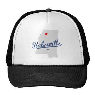 Camisa del ms de Batesville Mississippi Gorras