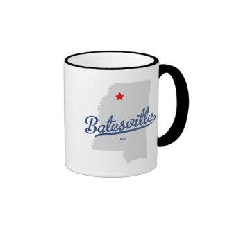 Camisa del ms de Batesville Mississippi Taza De Dos Colores