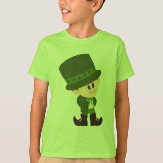 Camisa del muchacho del Leprechaun