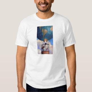 Camisa del mundo del globo