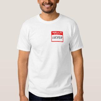 Camisa del Nametag de Lucifer