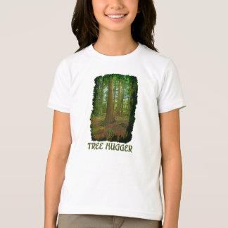"Camisa del Naturaleza-amante Hugger del árbol"" del"