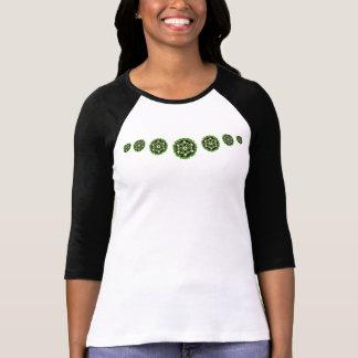 Camisa del navidad de la guirnalda de la estrella