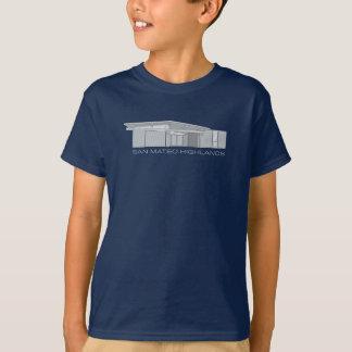 Camisa del niño de Eichler de las montañas de San