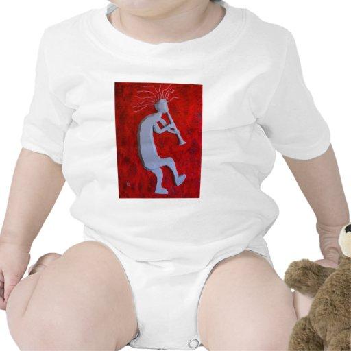 Camisa del niño de Kokopelli