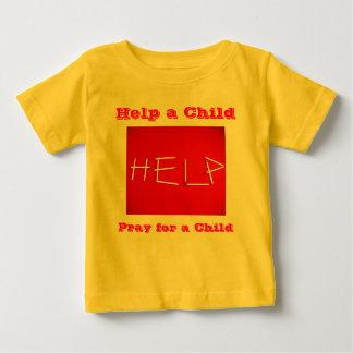 Camisa del niño de la ayuda