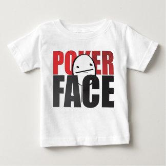 ¡Camisa del niño de la cara de póker! Playera De Bebé