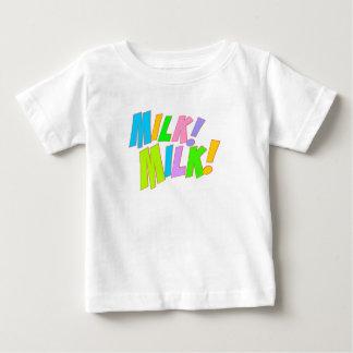 Camisa del niño de la leche de la leche