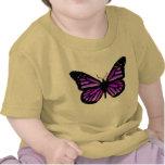 camisa del niño de la mariposa